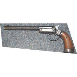 """Stevens .22 tip up pistrol, 8"""" barrel"""