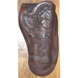 Shelton Payne, El Paso tooled holster
