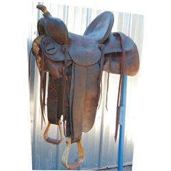 Clark high back saddle