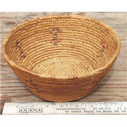 Indian figural basket