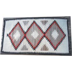 """Navajo blanket, 61""""x 34"""""""