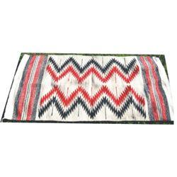 """Navajo blanket, 59""""x 28"""""""