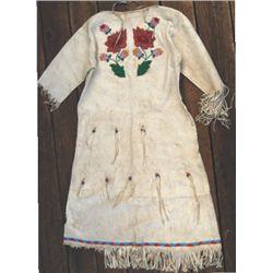 Beaded northern plains dress