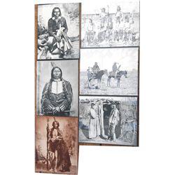 6 1800-early 1900's Hoffman Indian photos