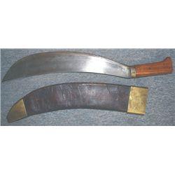 Spanish-America war US Collins machete