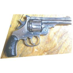 H&R nickel .32 s&w pistol