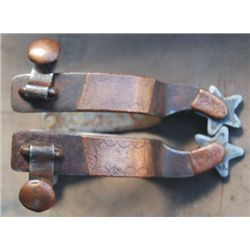 Kelly copper mounted spurs