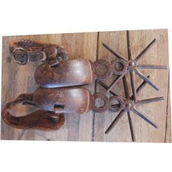 Mexican iron spurs