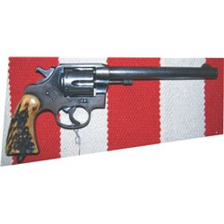 Colt New Service 38-40 with Texas star
