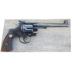 Colt officer's model .38 sp flat top target King conversion
