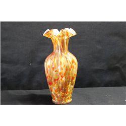 "FENTON VASA MURRHINA GLASS VASE - 1 OF A KIND - MINT 11.5"""