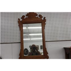 CHIPPONDALE STYLE MIRROR GIVEN AS A GIFT 1938 MAHOGANY