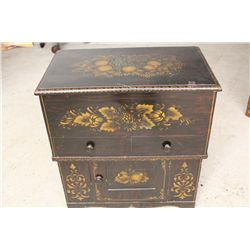 LIFT TOP COMMODE - PINE