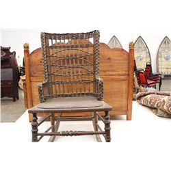 HAYWOOD WICKER ROCKER