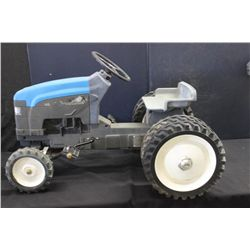 "HEAVY METAL RIDING TRACTOR BY NEW HOLLAND - 175 PRESTIGE SERIES #1 BY ERTL - 36"" X 25"""