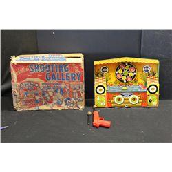 WIND UP SHOOTING GALLERY  -WORKS - BY WYANDOTTE - IN ORIG. BOX