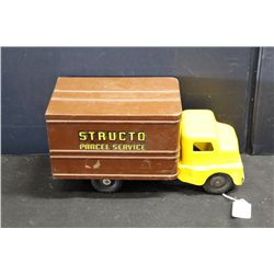 STRUCTO DELIVERY TRUCK - GOOD COND.