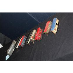 8 PC. MARX TRAIN SET - MERCURY