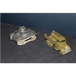 2 ARMY PCS. - TANK GERMANY