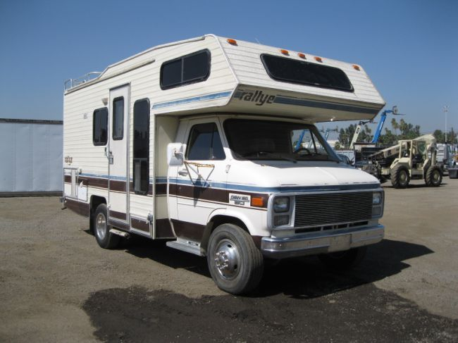1985 Chevy Fleetwood Jamboree RV