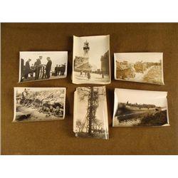 SIX ORIGINAL WWI BRITISH PRESS RELEASES PHOTOGRAPHS