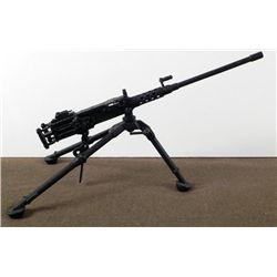 LARGE METAL NAZI ANTI-AIRCRAFT MACHINE GUN ON TRI-POD
