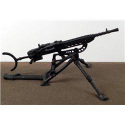 NAZI BI-POD STEEL MACHINE GUN ANTI-AIRCRAFT COMBAT