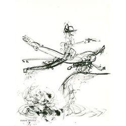 Sebastian Matta Original Lithograph, 1967