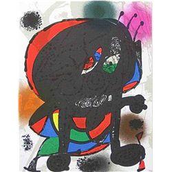 "Miro ""Lithograph Iii"" 1977"