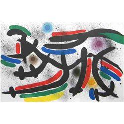 "Miro ""Original Lithograph Ix"" 1972"
