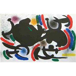 "Miro ""Original Lithograph Vii"" 1972"