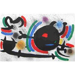 "Miro ""Original Lithograph X"" 1972"
