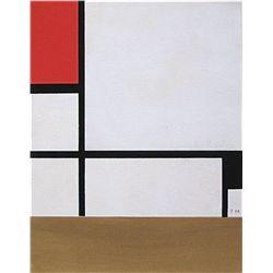 Piet Mondrian Color Ponchoir