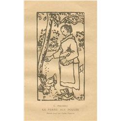 Camille Pissarro | Lucien Pissarro Woodcut