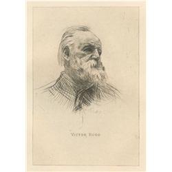 "Rodin ""Victor Hugo"" Original Drypoint"