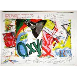 James Rosenquist Original Lithograph