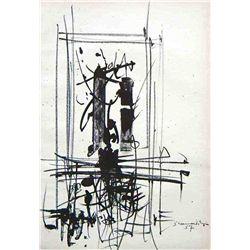 Emilio Scanavino Original Lithograph