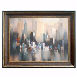 """CITYSCAPE - 1"" - ORIGINAL OIL ON CANVAS"