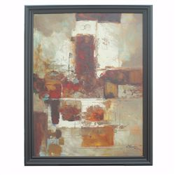 """""""ABSTRACT - 1"""" - ORIGNIAL OIL ON CANVAS"""