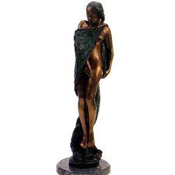 """""""Cloak Of Flowers"""" Bronze Sculpture - Kurtz"""