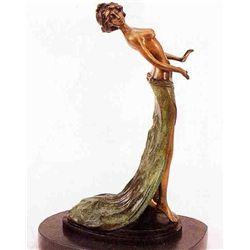 """Pretty Pose"" Bronze Sculpture - Paris"