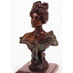 """Carmela"" Bronze Sculpture - Villanis"