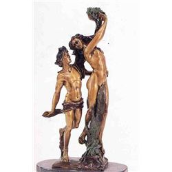 """Lovers"" Bronze Sculpture - Ruggeri"