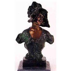 """""""Myrna"""" Bronze Sculpture - Villanis"""