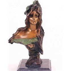 Selika  Bronze Sculpture - Villanis