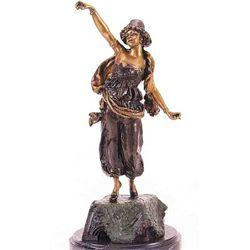 """""""Turkish Dancer"""" Bronze Sculpture - Pierce"""