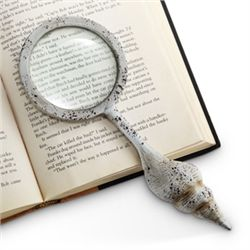 Conch Shell Magnifying Glass