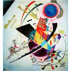 "Kandinsky ""Blue Circle"""