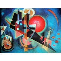"Kandinsky ""In Blue"""