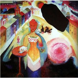 "Kandinsky ""Lady In Moscow"""
